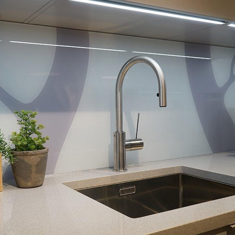 Galleri | Glass over kjøkkenbenk 7