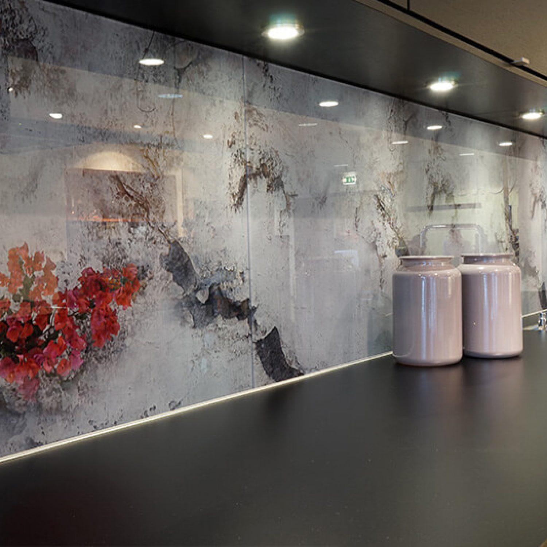 Galleri | Glass over kjøkkenbenk 9