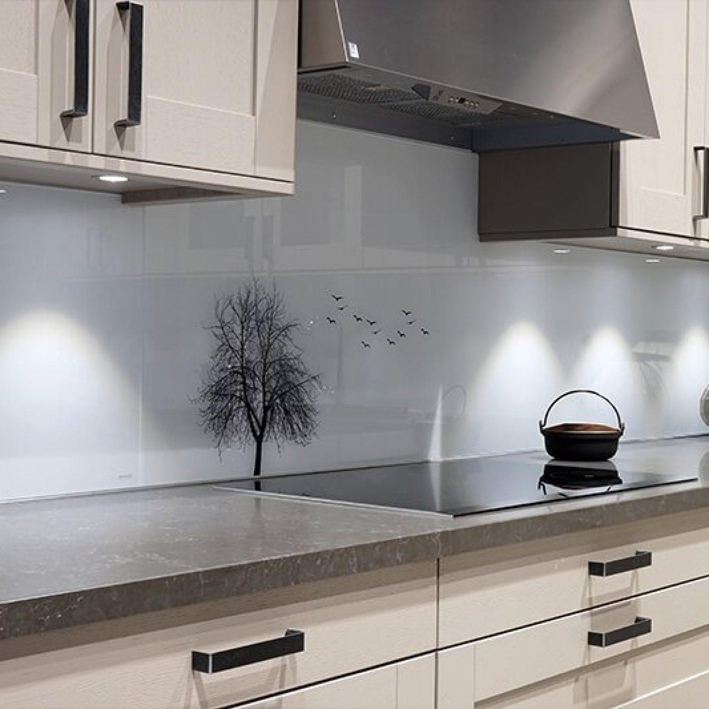 Galleri | Glass over kjøkkenbenk 6