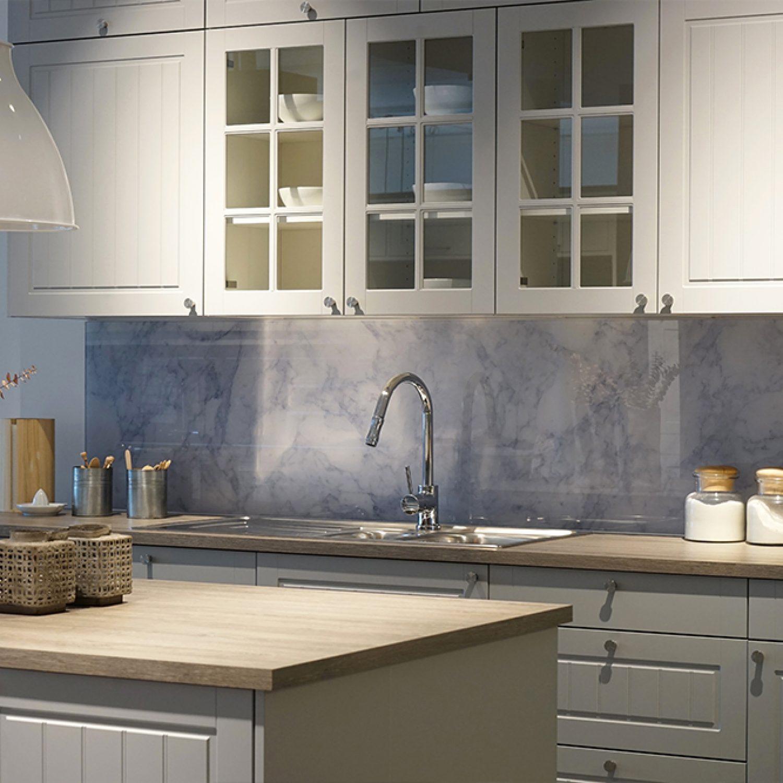 Galleri | Glass over kjøkkenbenk 4