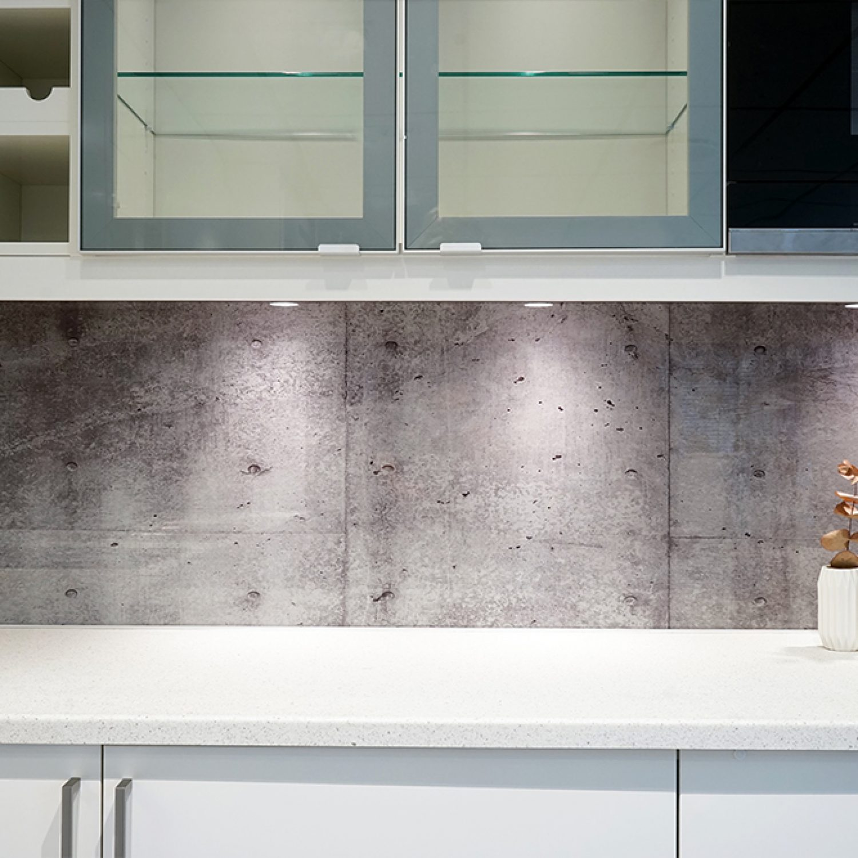 Galleri | Glass over kjøkkenbenk 1