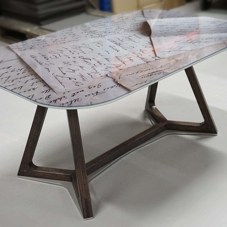 Designglass bord 1