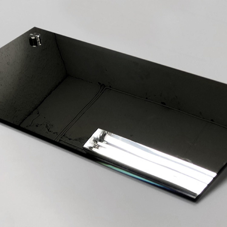 glamipane Chrome Speil 1
